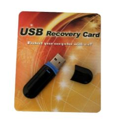 Placa de recuperação USB