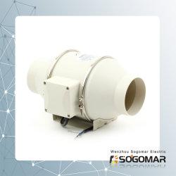 Het ventileren van Ventilator 4 '' 100mm met een Two-Speed Motor 220-240V AC 50Hz