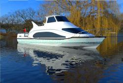 Chinese 52FT 40 personnes/aluminium en fibre de verre de la vitesse de la rivière Traversier de passagers pour la vente de bateaux