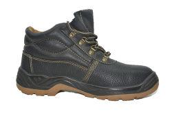 Suela de PVC barato Calzado de seguridad con puntera y la placa de acero para la construcción impermeable de PVC de alta calidad botas botas de seguridad Calzado de seguridad de PVC