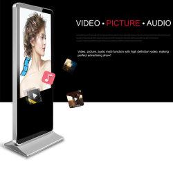Verticaal verticaal vrijstaand LCD-scherm met digitaal scherm voor video Spelen en adverteren