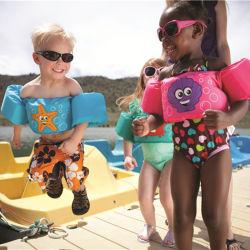 Bague du bras de bébé en mousse de dessins animés de la Flottabilité Veste Gilet de sauvetage de natation de maillots de bain