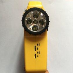 Energía Solar de emergencia de la Radio Radio AM FM con linterna LED lámpara de alerta de la sirena