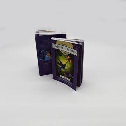 만화 책 완벽한 바인딩 게임 Softcover 책을 착색해 OEM
