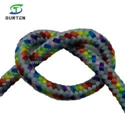 다채로운 폴리에스테 또는 Nylon/PP/Polypropylene/Polyamide/Plastic/Reflective/Rescue/Static/Safety는 땋는 밧줄을 골라낸다