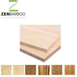 Het goedkope Natuurlijke Verticale Blad van het Triplex van het Bamboe voor Meubilair