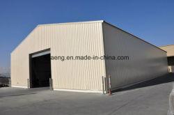 Industrielles große Schuppen-haltbares Stahlkonstruktion-Werkstatt-Gebäude/Metalhalle