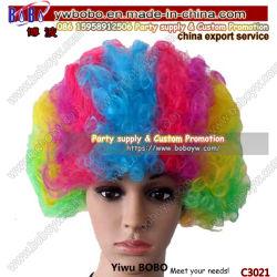 Vakantie van de van het Bedrijfs kostuum van de Pruik van de Ventilator van de Pruik van de Partij van Afro van de Levering van de partij de Gift van de Partij van de Gift (C3021)