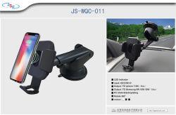 I قاعدة شحن سريع للشاحن اللاسلكي لجهاز iPhone X/8/ 7 /6 s Plus Samsung S8 وأجهزة أخرى ممكّنة لاستخدام Qi،