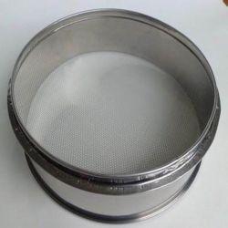 Micro- van het Laboratorium van het roestvrij staal Duurzaam Poeder die de Zeef van de Test van de filtratie scheiden