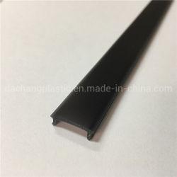 Черный пластик экструзии LED диффузор