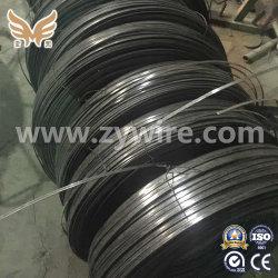 Superficie laminados en frío de resorte de acero alto carbono alambre plano 0.25-12mm