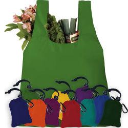 販売促進の再利用可能なショッピング袋の折りたたみナイロン袋