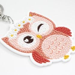 DIY Acryl Schlüsselanhänger Promotion-Geschenk Creative Owl Schlüsselanhänger Souvenirs