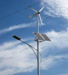 50W LED con vento e gli indicatori luminosi di via ibridi solari per i 10m Palo