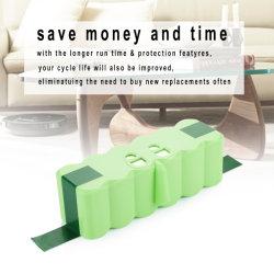 14,4 V 4400mAh rechargeable 5200mAh batterie liion Pack pour l'Irobot Roomba Aspirateur