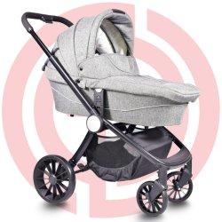Kinderwagen mit 3 in 1 Multifunktions, LuxuxbabyPram