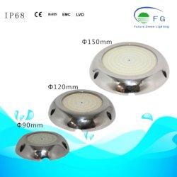 Mini indicatore luminoso esterno della piscina riempito di IP68 316ss resina RGB LED