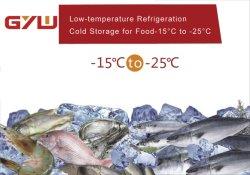 Miniböe-Fisch-Gefriermaschine-Fleisch für Kaltlagerung