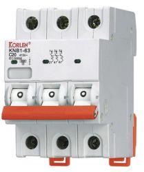 Korlen patentierte Produkt mit neuer Entwurfs-Minisicherung 1p 2p 3p 4p mit Cer CB IEC60898-1 MCB