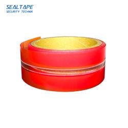 Shenzhen Transfert Total Fabricant BOPP déchirer le changement de couleur de la résistance sensible à la chaleur ruban en plastique