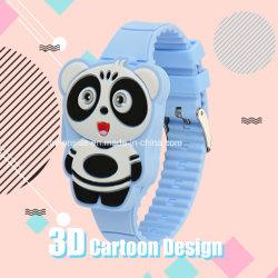 Don Venta caliente para niños de dibujos animados 3D Digital Reloj de pulsera de silicona