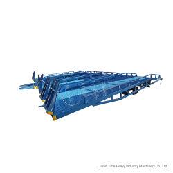 8T Hydraulische manuelle Yard Rampe Mobile Beladung Entladen Dock Rampen