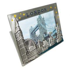 3D personnalisé Metal Craft London Bridge Cadre Photo en métal à la promotion de la vente (015)