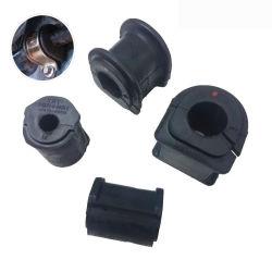 Ricambi per ammortizzatori in gomma personalizzati prodotto a sospensione automatica Manicotto boccola in gomma albero stabilizzatore barra per Toyota 48815-14140