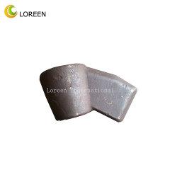 La perforación y accesorios para la minería del carbón Cutter Roadheader Pickholder minas