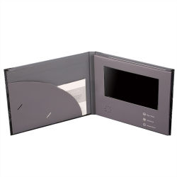 Pantalla LCD personalizado Video Magazine