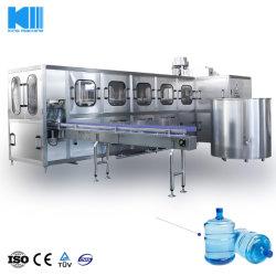 prix d'usine automatique 5 GALLON SEAU 600bph grande bouteille 19L 20L'eau minérale en bouteille pure liquide de lavage du fourreau plafonnement de l'emballage d'embouteillage de la machine de remplissage