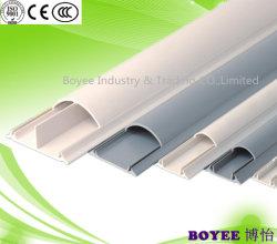 Het flexibele Kabelkanaal van de Vloer van pvc Plastic Elektrische