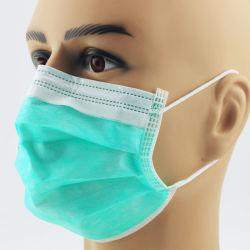 도매 디스트리뷰터 처분할 수 있는 3개 가닥 4 가닥 병원을%s 짠것이 아닌 En14683 의학 외과 형식 가면