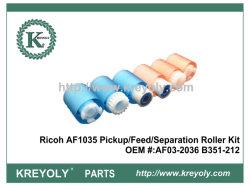 Recogedor de alta calidad / Alimentación / Kit de rodillos de separación para Ricoh AF1035 1045 2035 2045 3035 3045