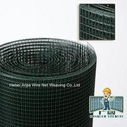 Material de construção de ferro com galvanização revestimento de PVC de malha de arame soldado