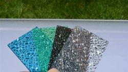 PC de 8 mm 6 mm en relief les types de feuille de polycarbonate
