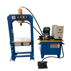 Manual de bastidor Tipo H prensa eléctrica hidráulica Máquina 20 Ton.