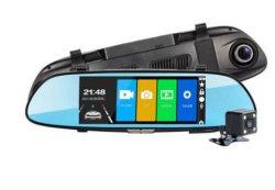 Fb-C700 tactile 7 pouces Starlight Night-Vision Auto HD enregistreur de données caché