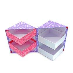 Custom складная конструкция упаковки продуктов питания печенье Wig ящик крафт-бумаги Подарочная упаковка