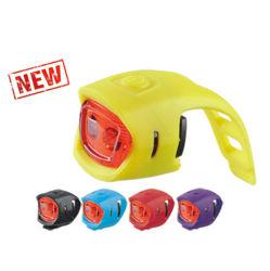 2 LED rouge pour la sécurité de phare de vélo Cyclisme (HLT-043)