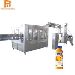 Entièrement automatique de remplissage d'emballage de jus Orange synthétique de l'embouteillage de la machine