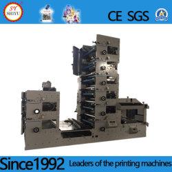 8 couleurs étiquette adhésive automatique de papier imprimante Flexo
