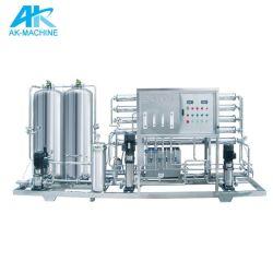 RO minéral de purification de l'eau potable pure purifier l'équipement du système de traitement de l'usine de la machine