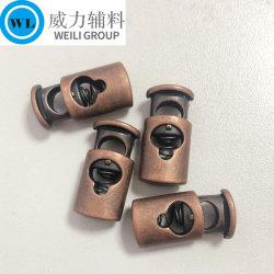 제조업체 사용자 지정 Hot Sale Metal Locker 코드 엔드 스프링 옷감을 위한 다양한 색상의 종이 패션 의류 액세서리 메탈 버튼을 누릅니다
