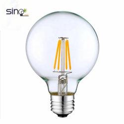 Горячая продажа светодиодные лампы накаливания G95 220V E27 10 Вт Светодиодные лампы с регулируемой яркостью
