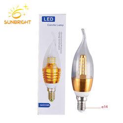 중국 공장 도매 크리스마스 라이트 램프 E14 E27 LED 캔들 전구