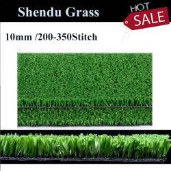 Probe geben 100% Wand-Dekoration der neue synthetische weiche Haushalts-künstliche des Gras-10mm für Kind frei