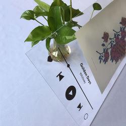 Feuille acrylique clair de haute qualité de l'impression UV avec design personnalisé