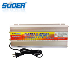 Suoer High Frequency 12V zu 220V 2000W Modified Power Inverter mit 20A Battery Charger (SUA-2000C)